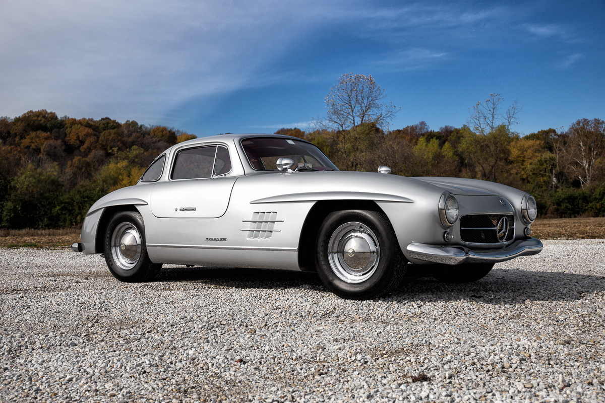 1955 Mercedes Benz Gullwing 300sl Replica Fast Lane