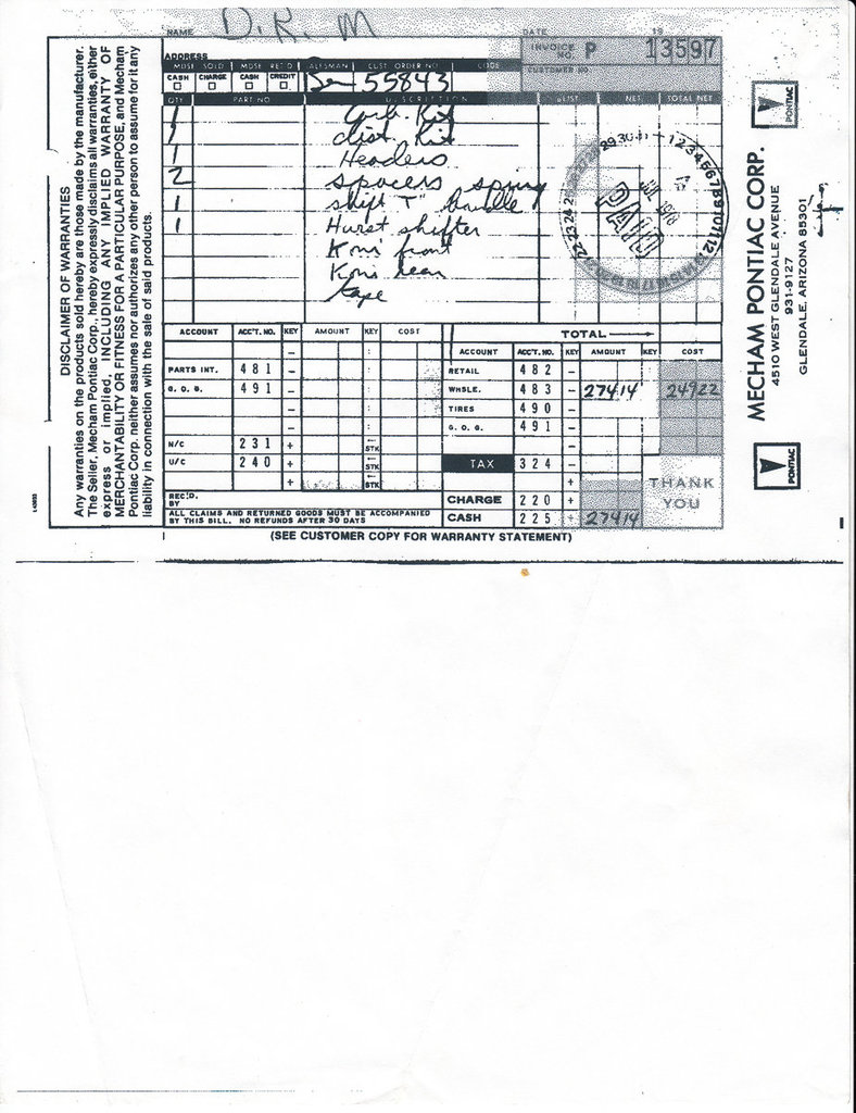 1977 pontiac trans am engine manual