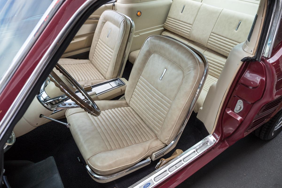 1967 Mustang Fog Lights