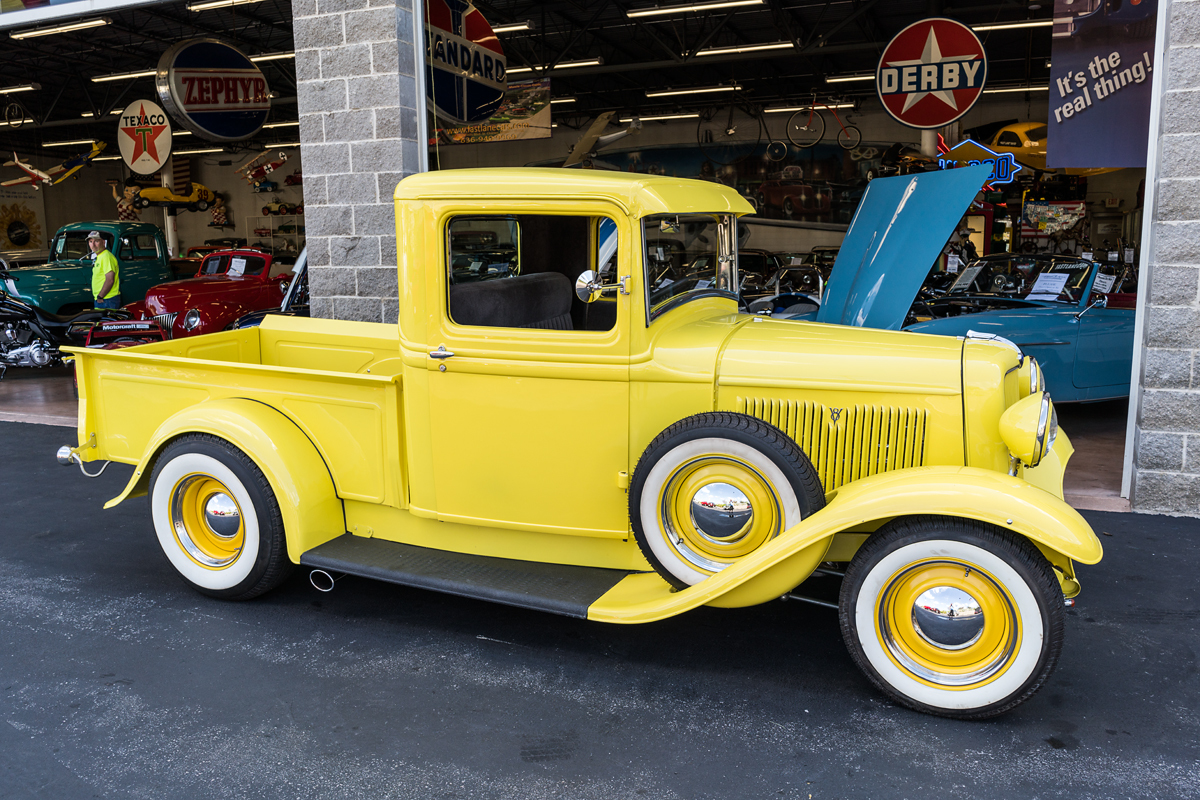 1934 ford pickup fast lane classic cars. Black Bedroom Furniture Sets. Home Design Ideas