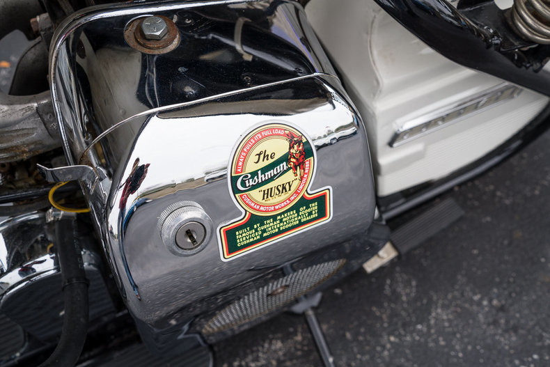 1959 Cushman Motorcycle