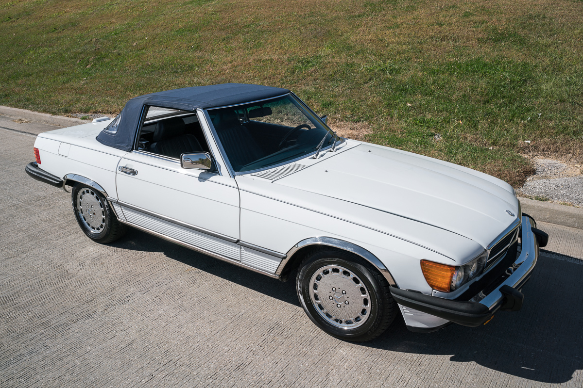 1989 Mercedes Benz 560sl Fast Lane Classic Cars
