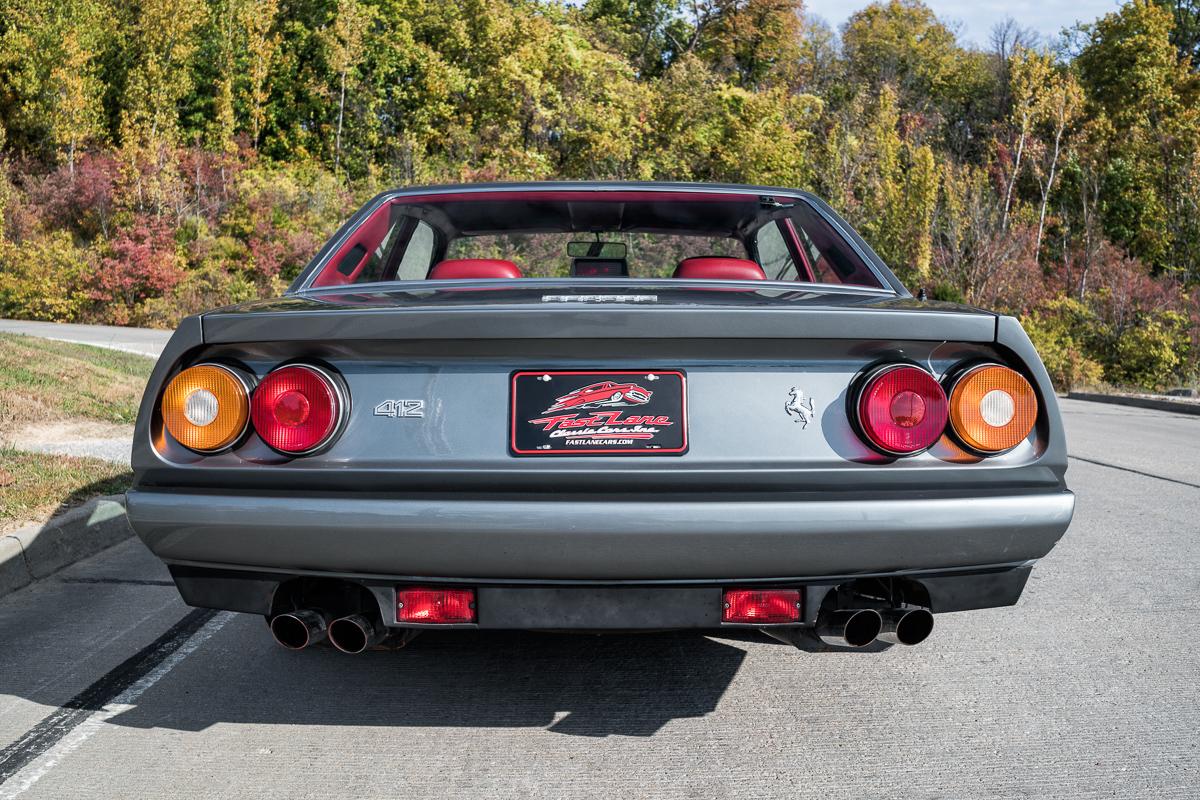 1986 Ferrari 412 | Fast Lane Classic Cars
