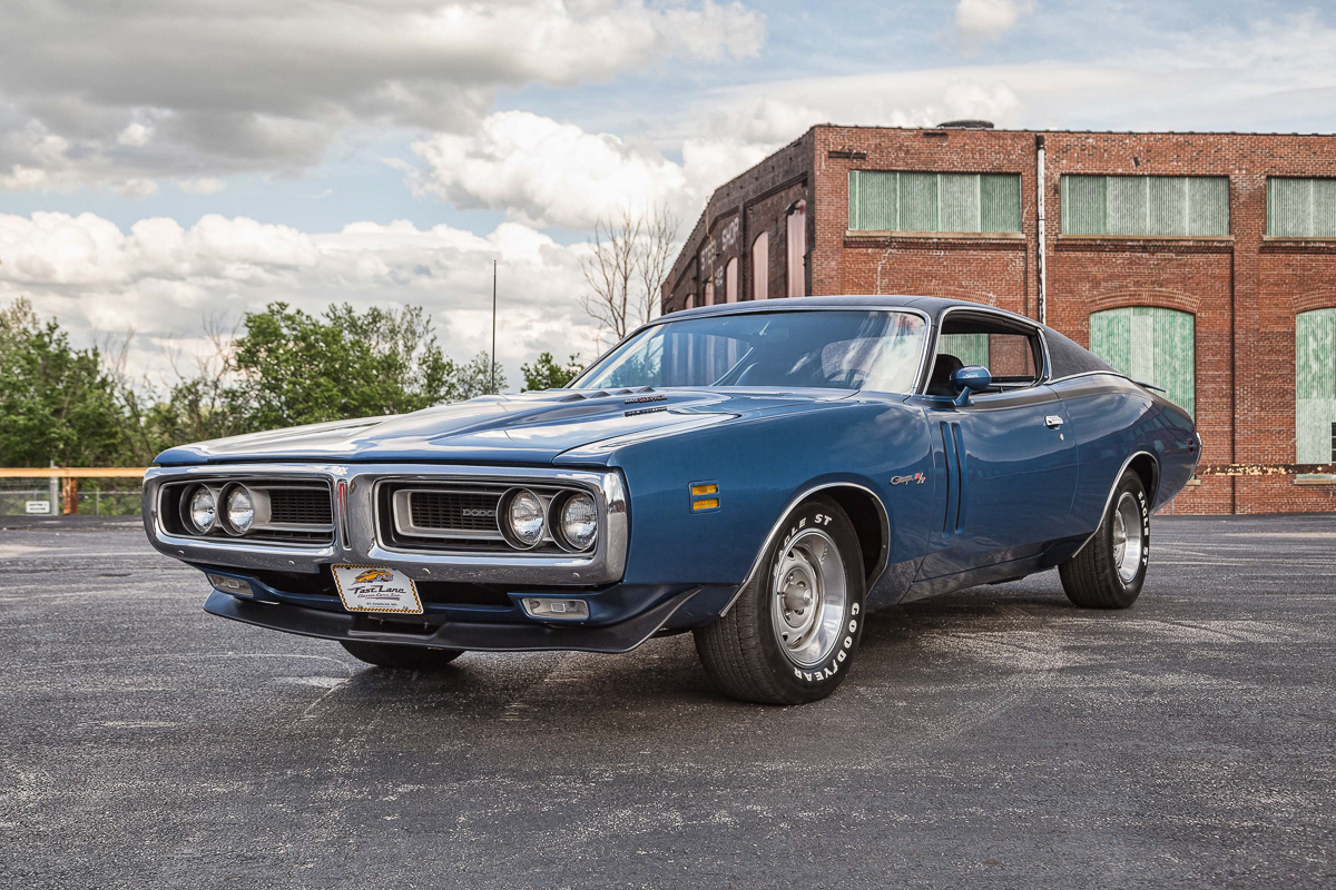 Blue Dodge Charger >> 1971 Dodge Charger | Fast Lane Classic Cars