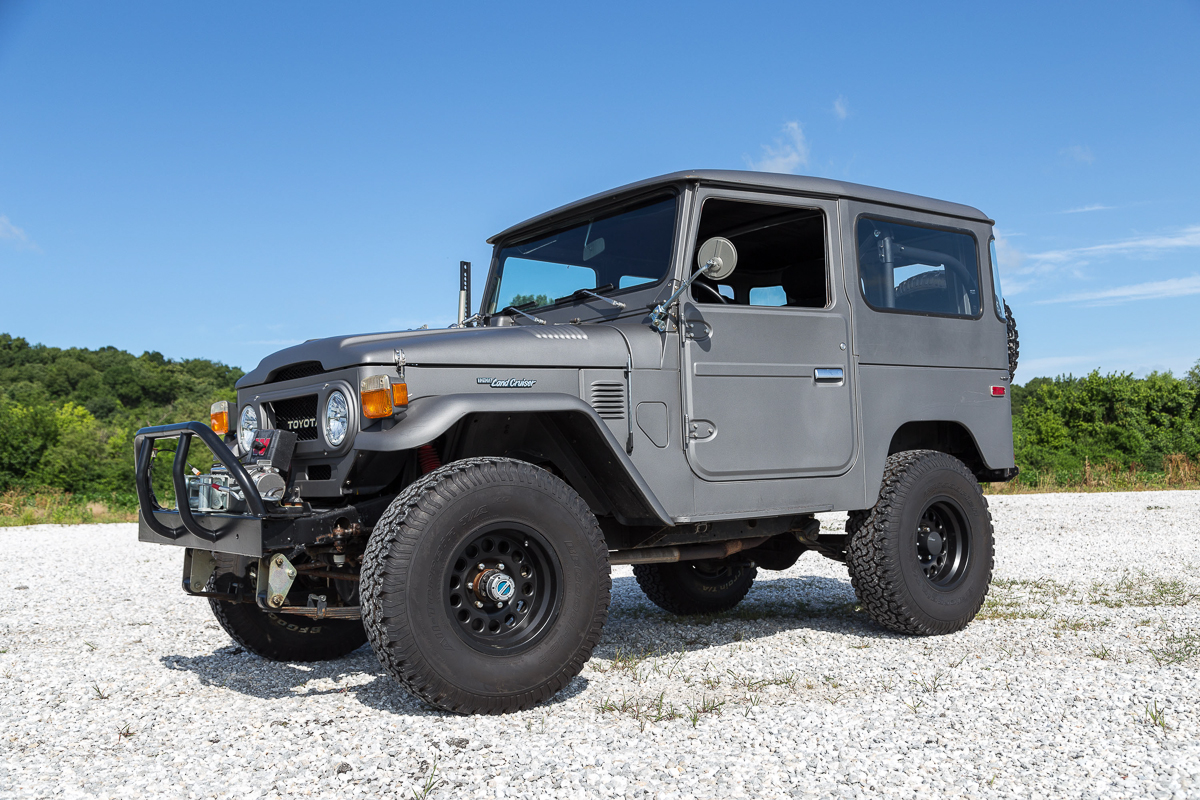 White Tire Paint >> 1976 Toyota FJ40 Land Cruiser | Fast Lane Classic Cars