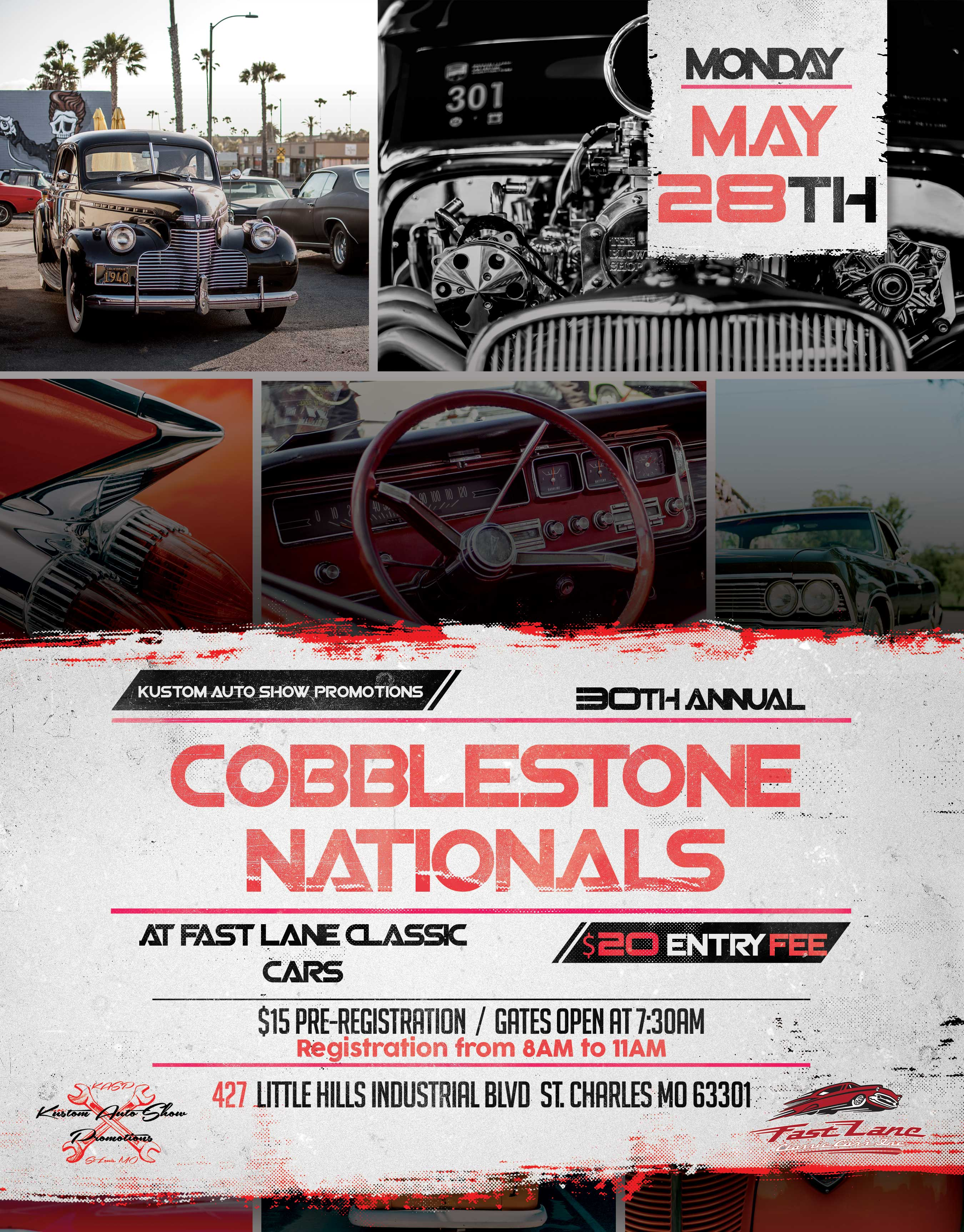 30th Annual Cobblestone Nationals Car Show | Fast Lane Classic Cars