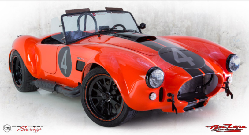 Build Your Car >> Build Your Custom Backdraft Cobra Fast Lane Classic Cars