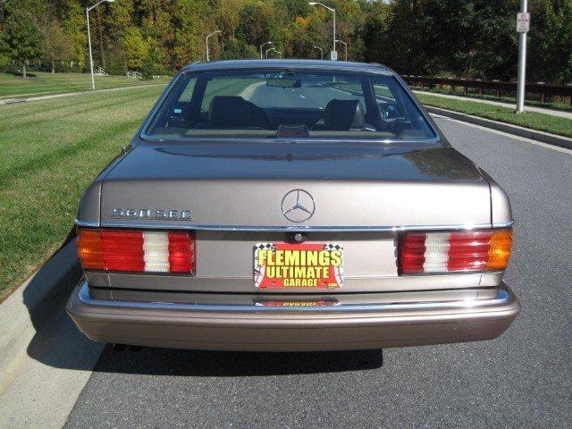 1987 1987 Mercedes-Benz 560 SEC For Sale