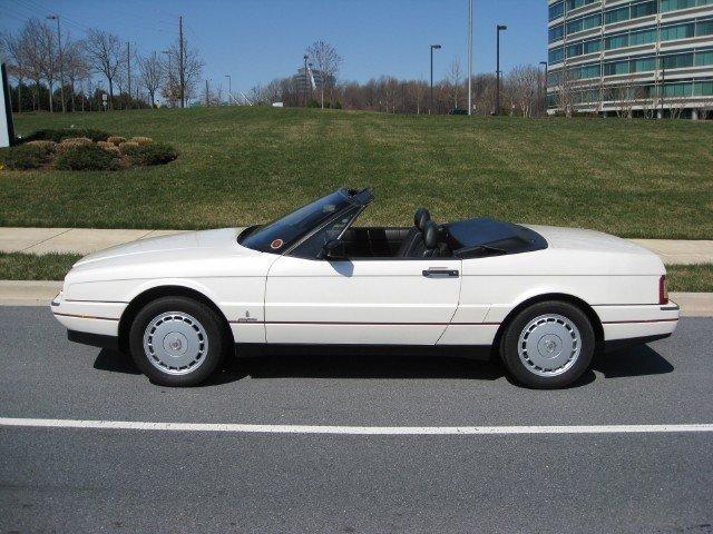 1991 Cadillac Allante 1991 Cadillac Allante For Sale To