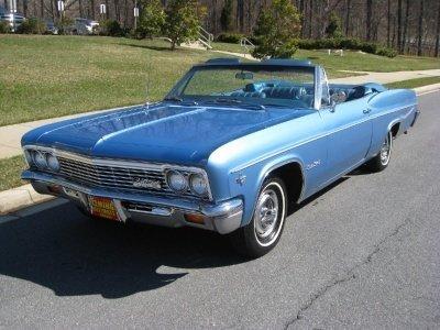 1966 Chevrolet Impala 1966 Chevrolet Impala For Sale To