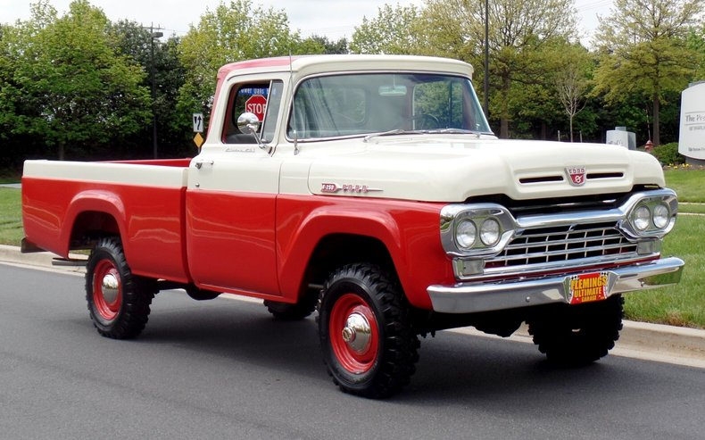 1960 Ford F250 1960 Ford F250 4x4 For Sale To Buy Or