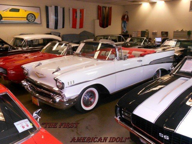 1957 chevrolet bel air 1957 chevrolet belair convertible for Garage peugeot bouc bel air