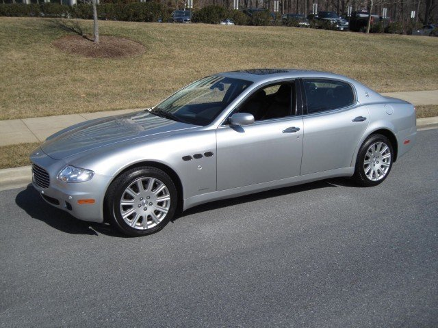 2006 maserati quattroporte 2006 maserati quattroporte for sale to purchase or buy classic. Black Bedroom Furniture Sets. Home Design Ideas