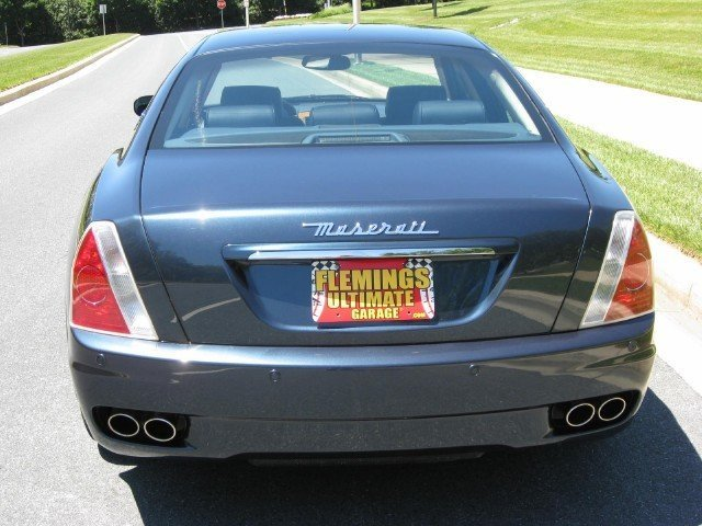 2007 maserati quattroporte 2007 maserati quattroporte for sale to purchase or buy flemings. Black Bedroom Furniture Sets. Home Design Ideas