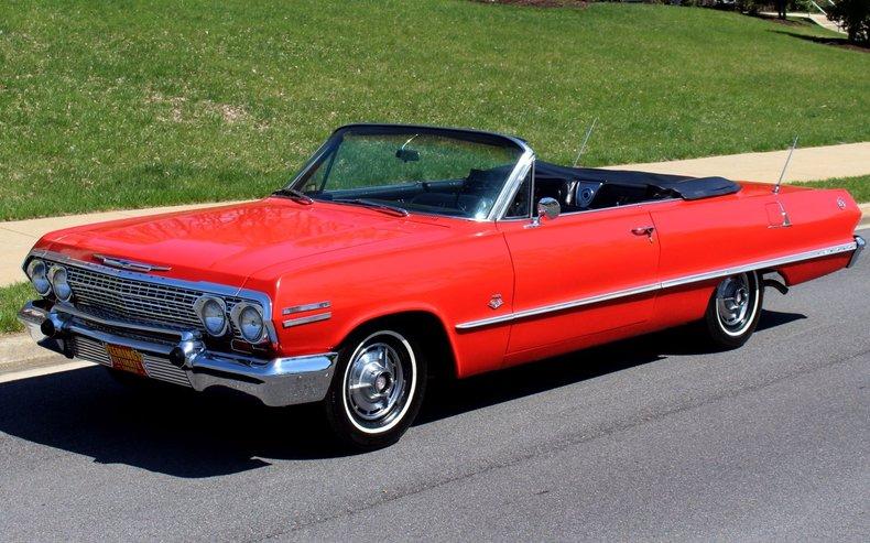 1963 Chevrolet IMPALA SS409 425HP