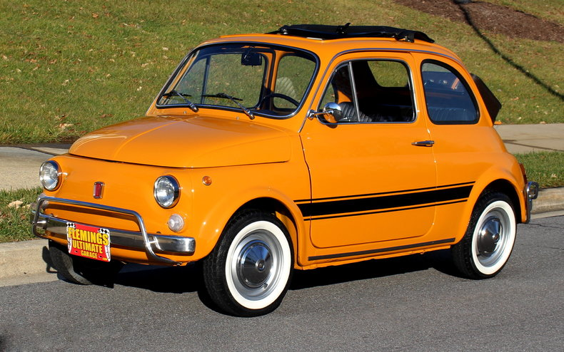 1970 fiat 500l 1970 fiat 500 cabriolet beautiful restoration for sale to buy or purchase 500l. Black Bedroom Furniture Sets. Home Design Ideas