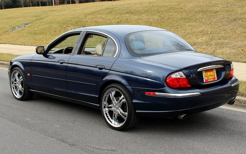 2000 Jaguar S-Type   2000 Jaguar S-type for sale to purchase or buy low miles 3.0 V6 upgraded ...