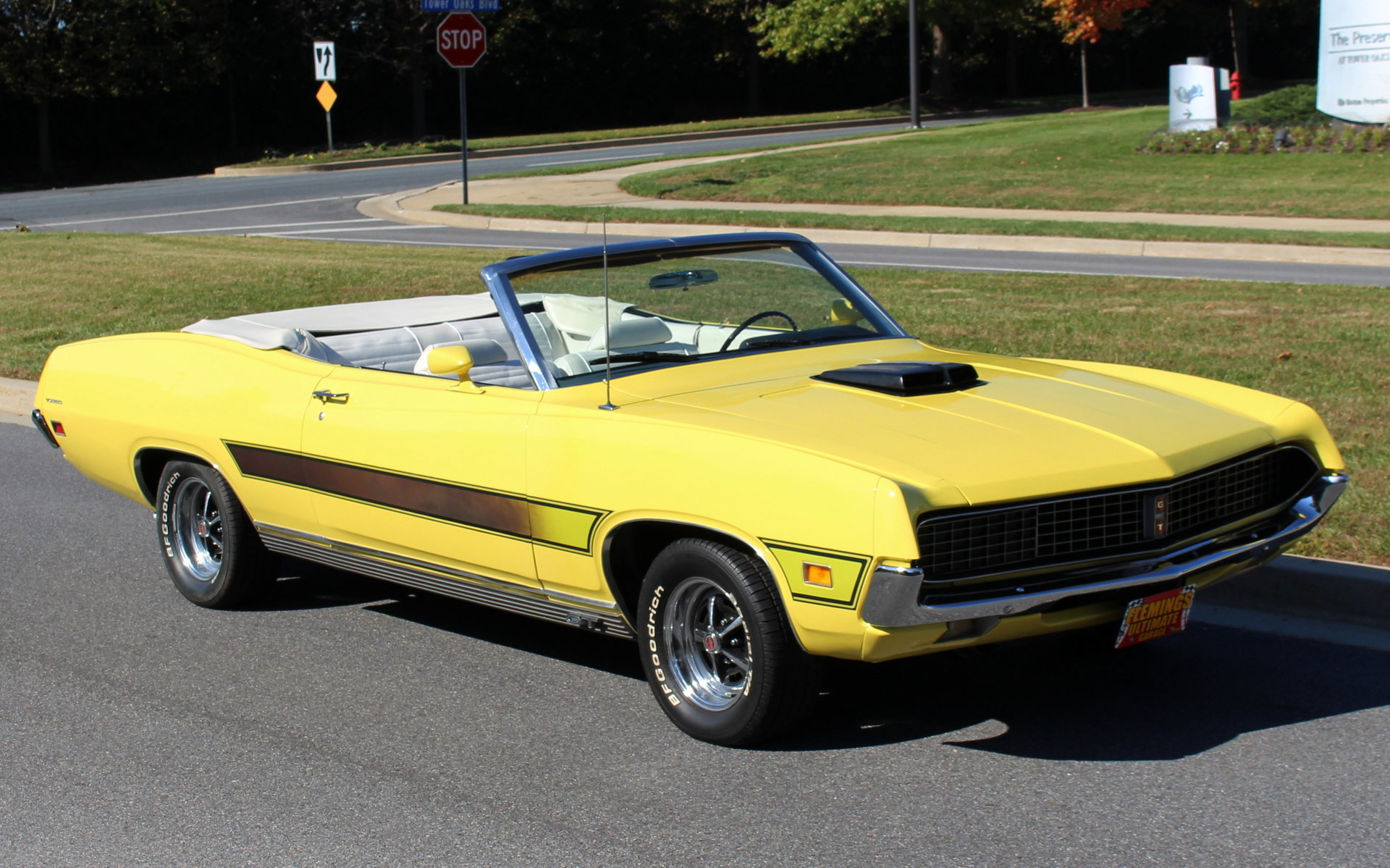1971 Ford Torino Convertible Gt For Sale 26937 Mcg 1970