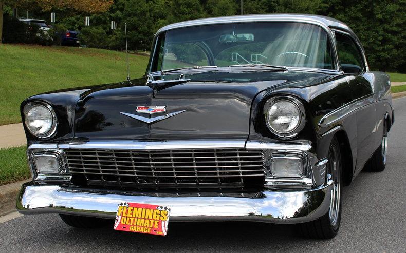 1956 chevrolet bel air pro touring for sale 26983 mcg for Garage peugeot bouc bel air
