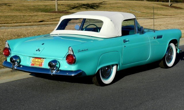 1955 Ford Thunderbird | 1955 Ford Thunderbird Convertible ...