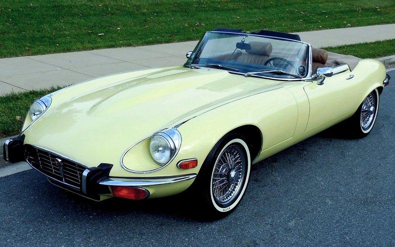 1973 Jaguar E Type V12 Roadster
