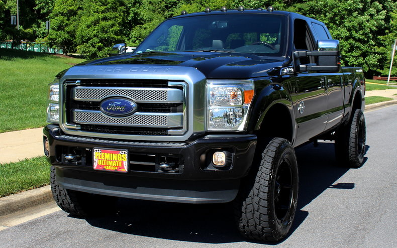 2015 Ford F250 2015 F250 Super Duty Platinum Power