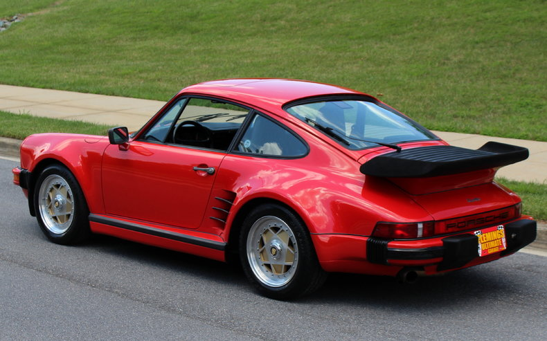 1986 porsche 911 1986 porsche 911 turbo for sale to buy or purchase 930 carrera low miles. Black Bedroom Furniture Sets. Home Design Ideas