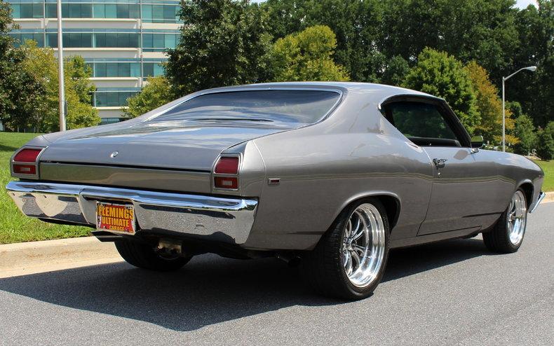 1969 Chevrolet Chevelle 1969 Chevrolet Chevelle Ss 572