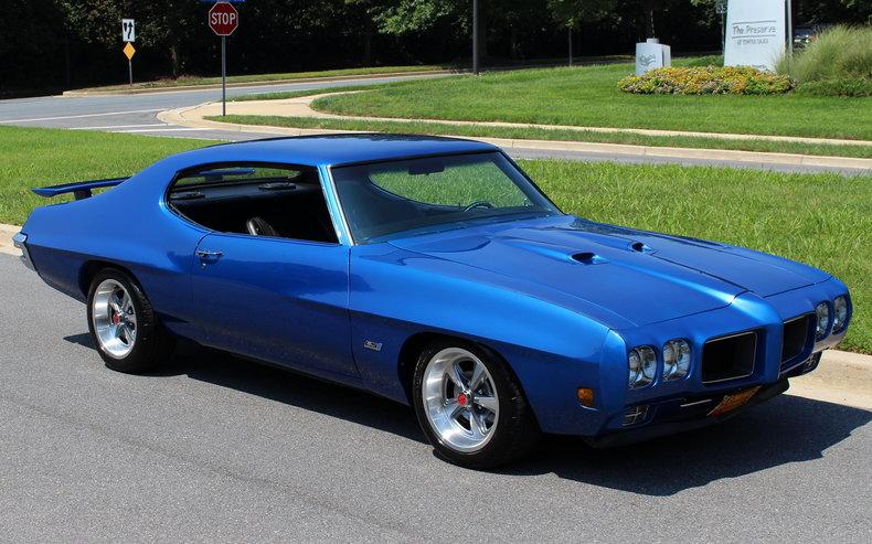 1970 Pontiac Gto 1970 Protouring Pontiac Gto Ls1 For