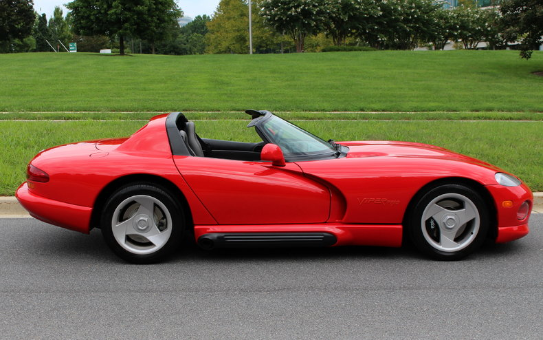 1994 Dodge Viper RT/10 | 1994 Dodge Viper RT/10 for sale with low miles 1 owner garage kept ...