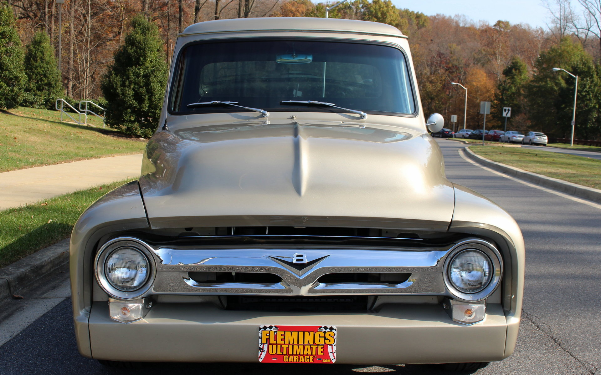 1954 Ford F100 For Sale 65767 Mcg Pickup Truck