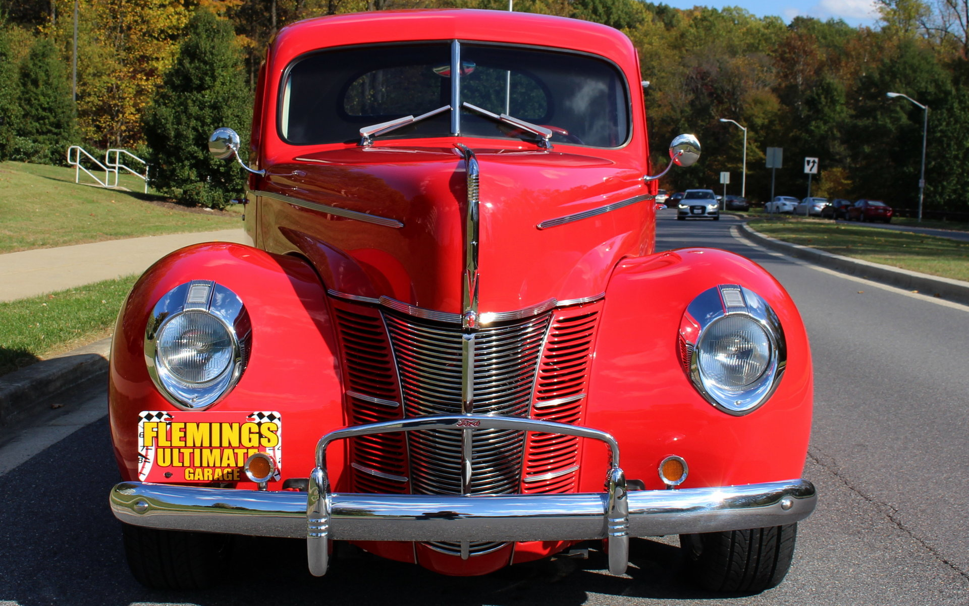 1940 ford all steel street rod for sale 66004 mcg for Garage ford vernon