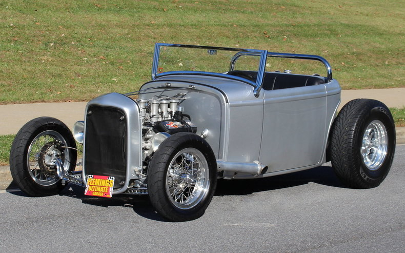 1932 ford street rod roadster for sale 66009 mcg for Garage ford vernon