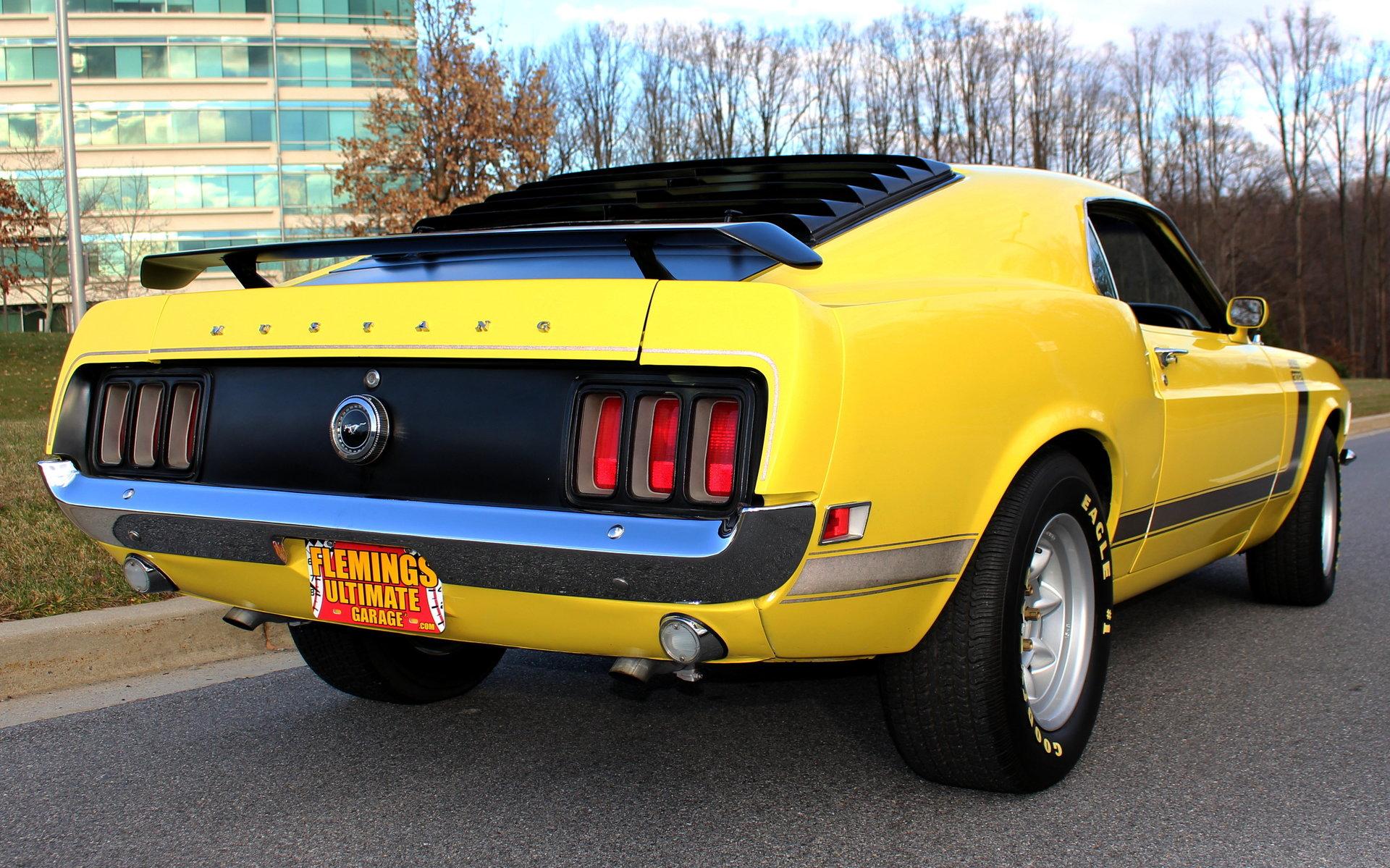 1970 ford mustang boss 302 vintage racer for sale 67820 mcg. Black Bedroom Furniture Sets. Home Design Ideas