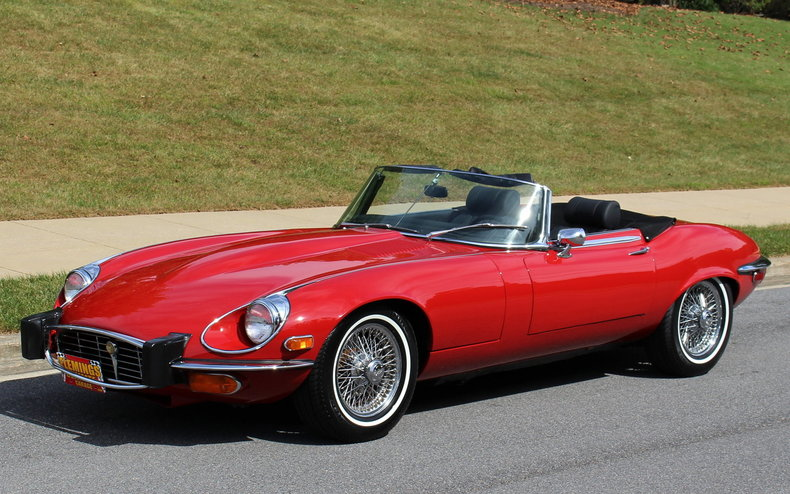 Lovely 1974 Jaguar E Type | 1974 Jaguar E Type For Sale To Buy Or Purchase V12  Convertible Auto | Classic Cars, Muscle Cars, Exotic Cars, Camaro,  Chevelle, Impala, ...