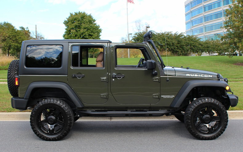 2015 jeep rubicon unlimited custom for sale 69843 mcg. Black Bedroom Furniture Sets. Home Design Ideas
