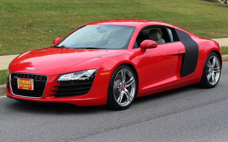 2009 audi r8 2009 audi r8 for sale to buy or purchase v8. Black Bedroom Furniture Sets. Home Design Ideas