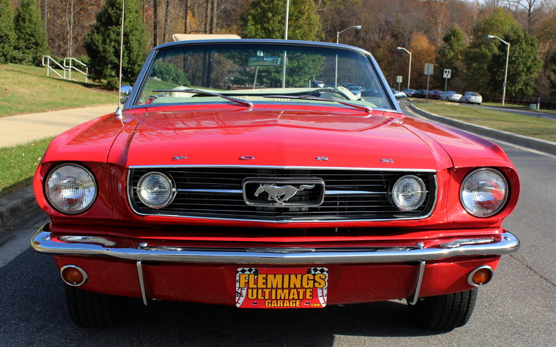 1966 ford mustang 1966 mustang gt convertible for sale with 289ci c4 automatic classic cars. Black Bedroom Furniture Sets. Home Design Ideas