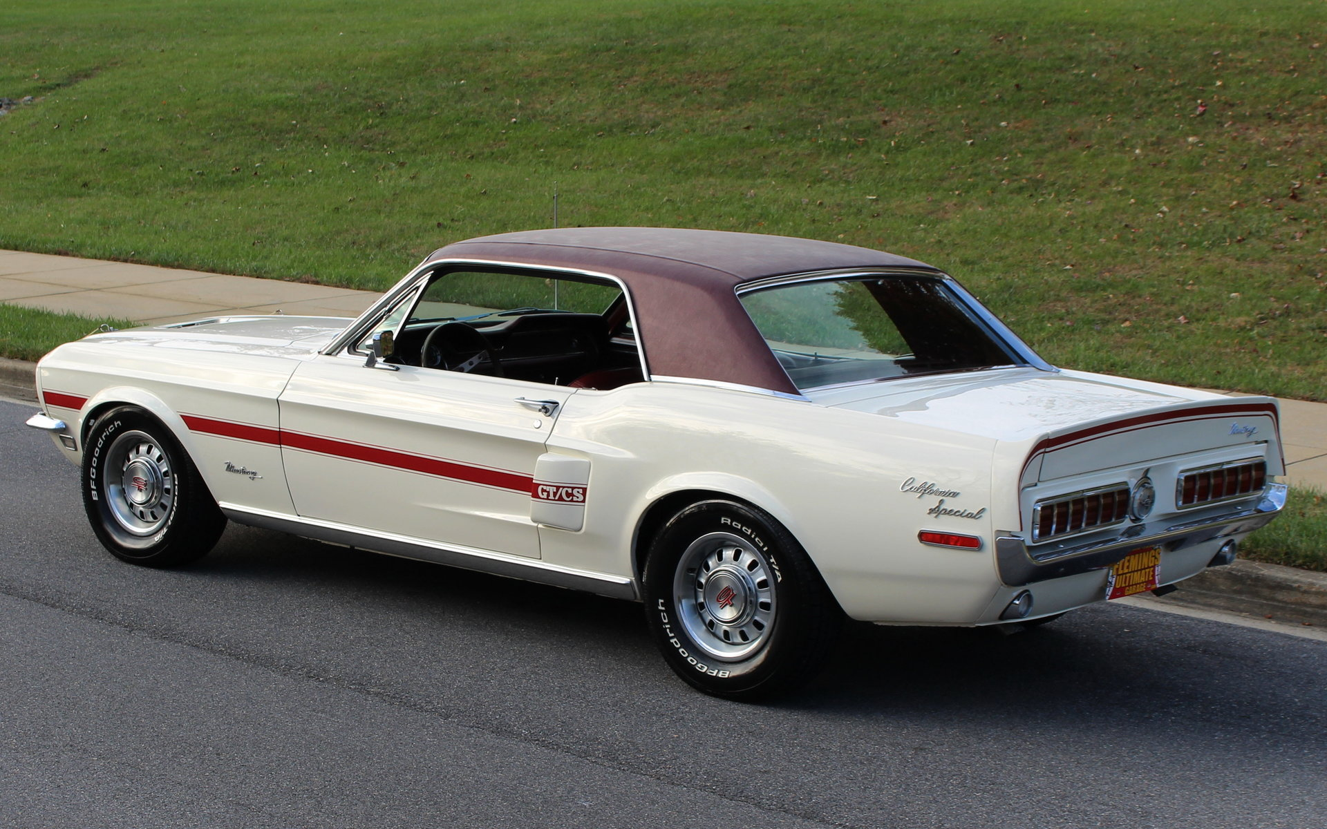 1968 ford mustang gt california special for sale 72620 mcg. Black Bedroom Furniture Sets. Home Design Ideas