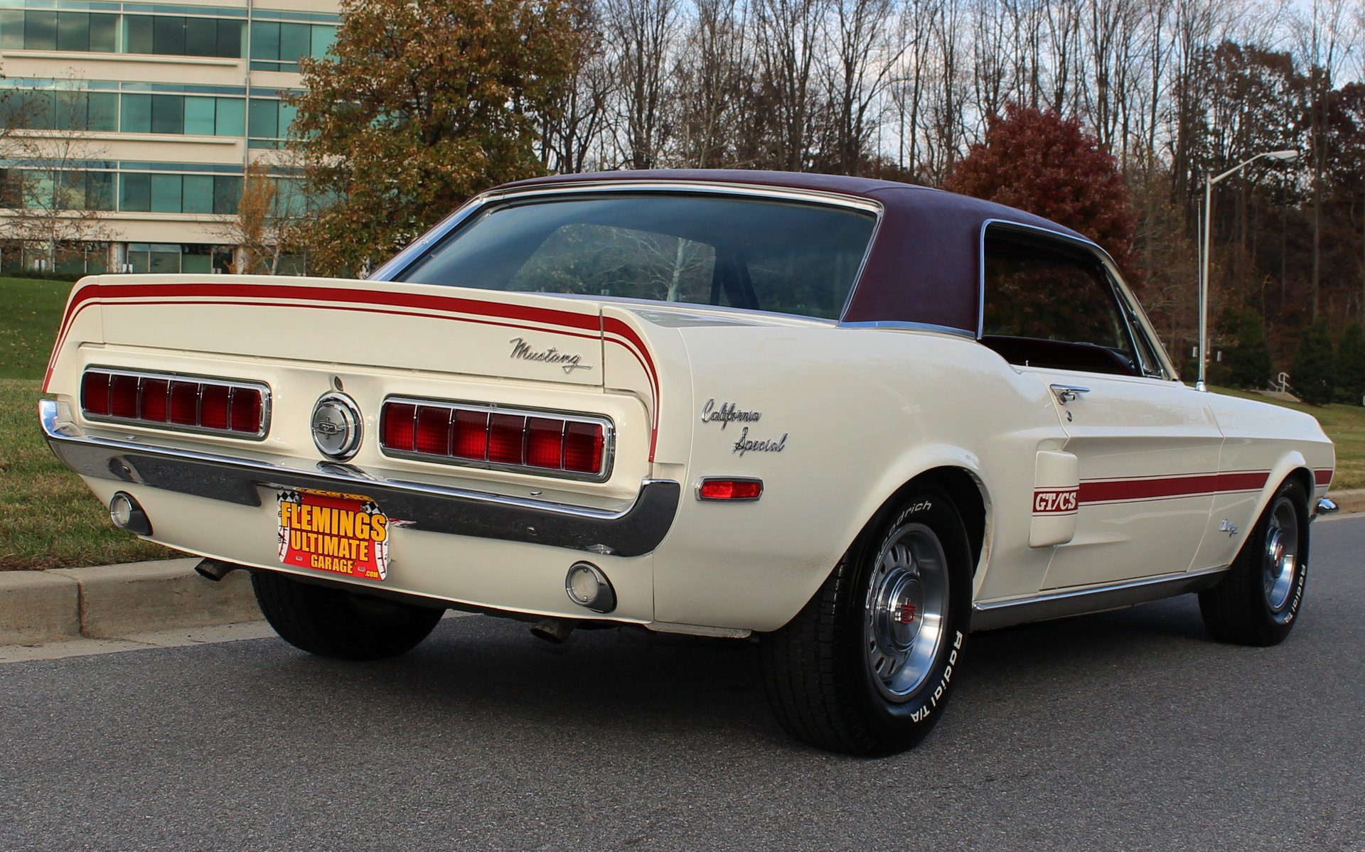 1968 ford mustang gt california special for sale 72620 mcg for Garage ford vernon 27200