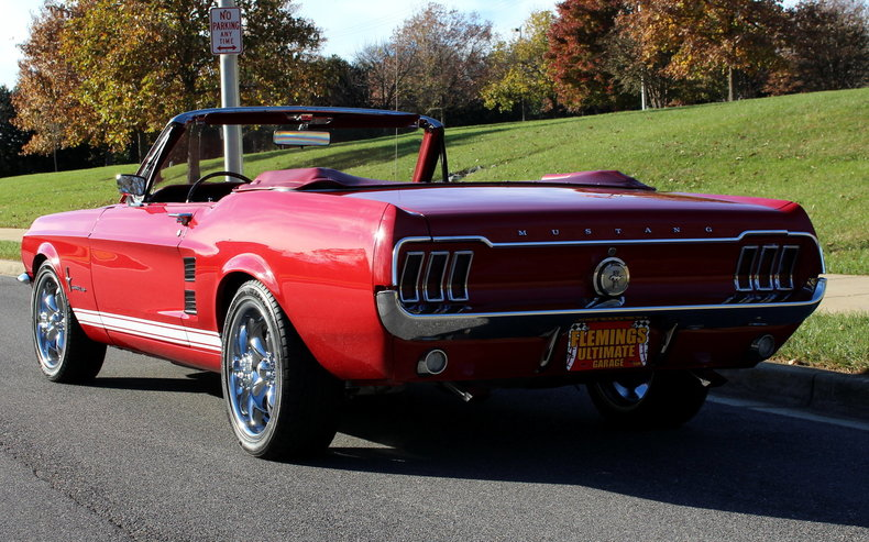 1967 Ford MUSTANG GT CONVERTIBLE for sale #73196 | MCG