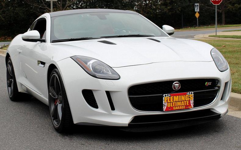 2015 jaguar f type 2015 jaguar f type s for sale v6 supercharge 8 speed 1 owner classic cars. Black Bedroom Furniture Sets. Home Design Ideas