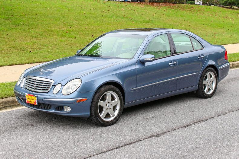 2004 Mercedes Benz E500 | 2004 Mercedes E500 4 Matic, Original $52,850 MSRP  For Sale. | Classic Cars, Muscle Cars, Exotic Cars, Camaro, Chevelle,  Impala, ...