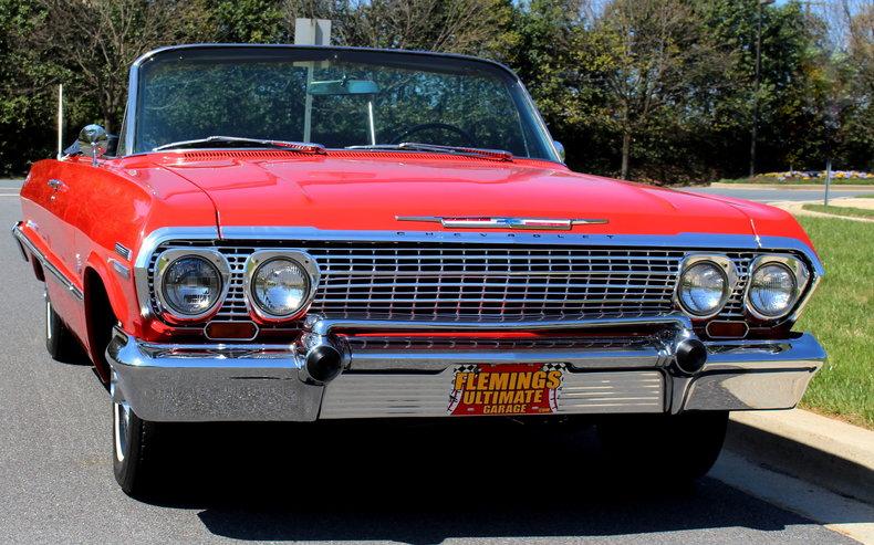 1963 Chevrolet Impala | 1963 Chevrolet Impala SS409 425hp ...