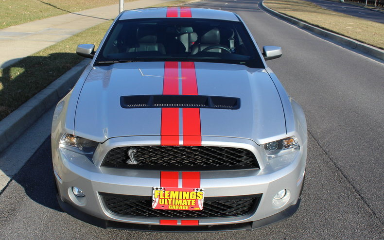 2011 Ford Mustang 2011 Ford Shelby Gt500 Performance