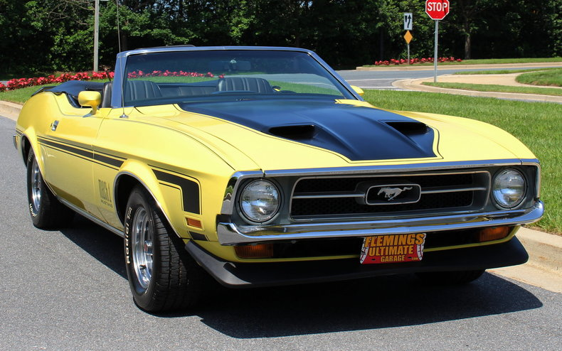 1971 Ford Mustang Convertible For Sale  77095