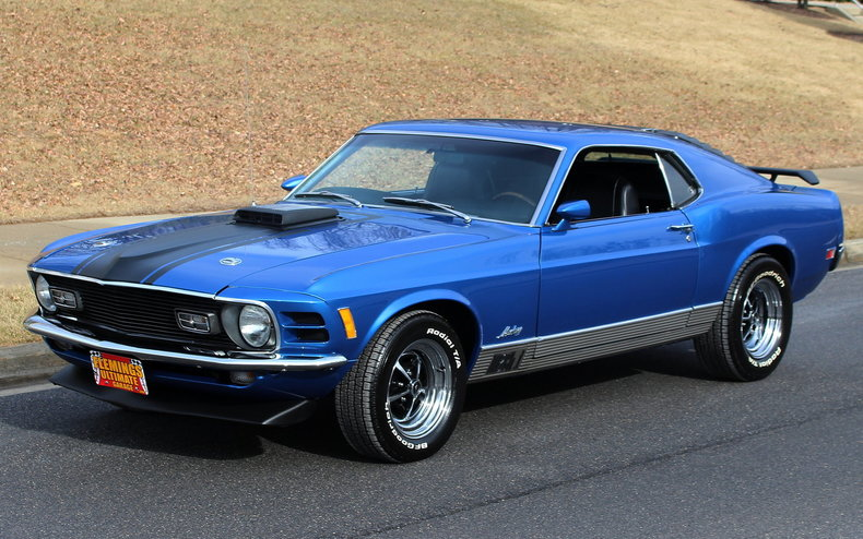 1970 Ford Mustang 1970 Ford Mustang Mach 1 Grabber Blue For Sale