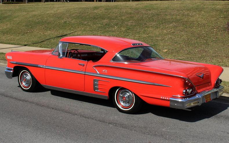 1958 chevrolet impala for sale 79982 mcg. Black Bedroom Furniture Sets. Home Design Ideas