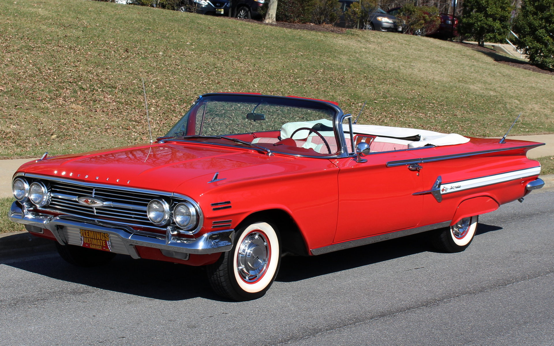 1960 chevrolet impala convertible for sale 80342 mcg. Black Bedroom Furniture Sets. Home Design Ideas