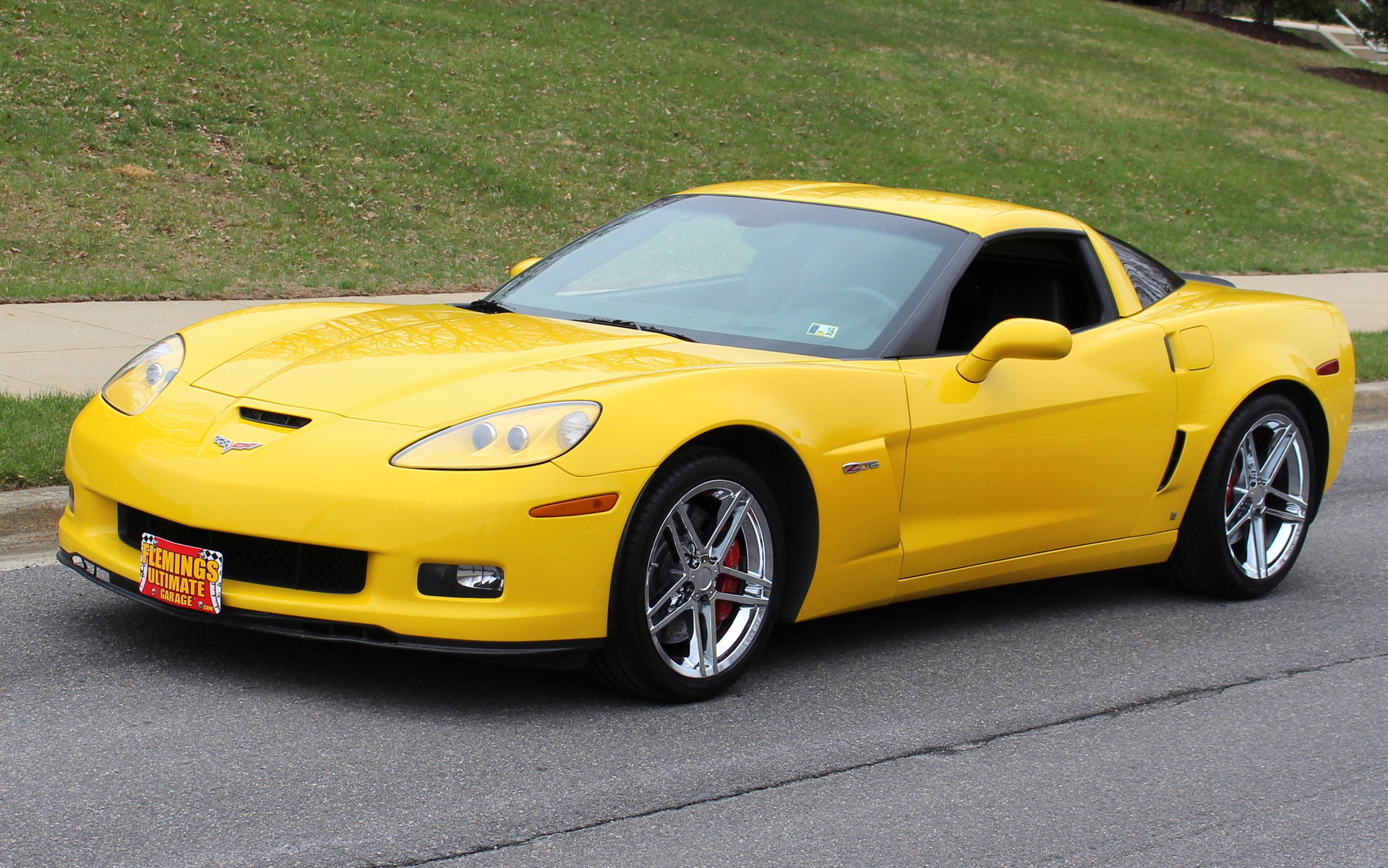2006 chevrolet corvette z06 for sale 80428 mcg. Black Bedroom Furniture Sets. Home Design Ideas